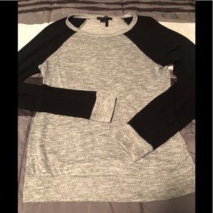 Gray long sleeve shirt by Forever 21